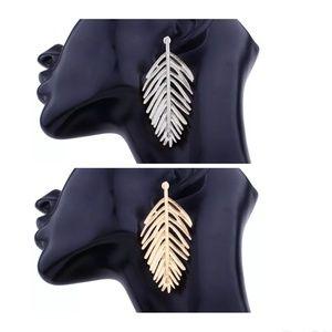 Jewelry - AUTUMN LEAF DROP EARRINGZ